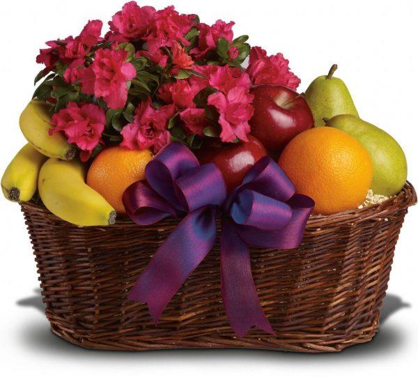dostava voća sa cvijećem